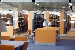 modern library furniture